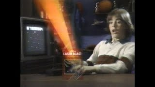 """Here's a commercial for the home video game Laser Blast by Activision, touting itself as """"A New Game Cartridge for Your Atari Video Game System"""" (and contrasting itself to its """"dull"""" predecessors). The purpose is to go after the other side's force fields and dodge their tracking systems. (Ah, remember those good ol' days? ;-) )""""Atari""""(R) and """"Video Computer System""""(TM) are trademarks of Atari, Inc.With a lower-third super towards the end as to what stores in the Chicago area carry this cartridge-Available at:Variations in VideoArlington HeightsGamers Paradise StoresVideo ForumAll StoresJoe's ElectricVoiceover by ??""""It's light years away from all those other space games.""""This aired on local Chicago TV in May of 1981.About The Museum of Classic Chicago Television:The Museum of Classic Chicago Television's primary mission is the preservation and display of off-air, early home videotape recordings (70s and early 80s, primarily) recorded off of any and all Chicago TV channels; footage which would likely be lost if not sought out and preserved digitally. Even though (mostly) short clips are displayed here, we preserve the entire broadcasts in our archives - the complete programs with breaks (or however much is present on the tape), for historical purposes. For information on how to help in our mission, to donate or lend tapes to be converted to DVD, and to view more of the 4,700+ (and counting) video clips available for viewing in our online archive, please visit us at:http://www.fuzzymemories.tv/index.php?contentload=donate"""