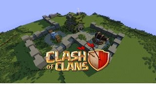 Minecraft Timelapse - Clash of Clans #1