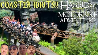 I Skipped the Line For Hagrid's Motorbike Adventure!! New Universal Orlando Attraction!