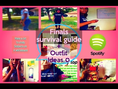 Finals survival guide + outfit ideas|may 2015|rachelle