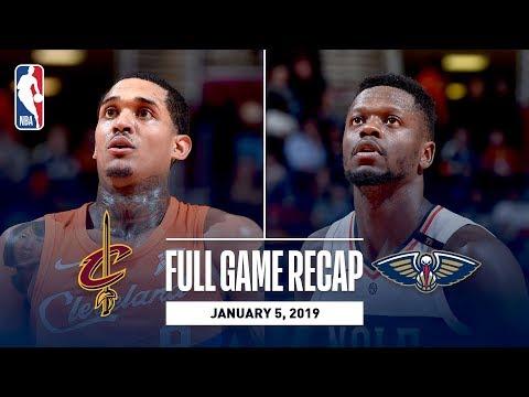 Video: Full Game Recap: Pelicans vs Cavaliers | Julius Randle Records A Near Triple-Double