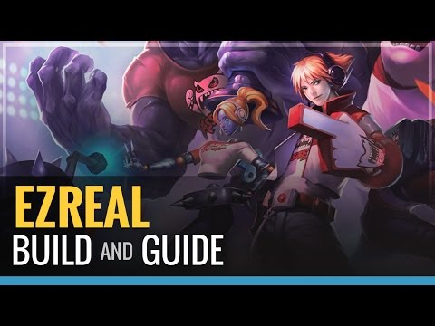 ezreal build - Ezreal foam finger of death. Don't forget to hit the like button! Items- Dorans Blade lvl 1 Trinity Force Infinity Edge Attack Speed Boots Botrk or Bloodthri...