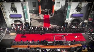 Every year at the TCM Classic Film Festival, we roll out the red carpet. Here's all the work it takes to pull this off.