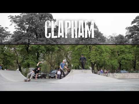 London Streets, Kennington Bowl & Clapham Skatepark - Fiasco Skateboarding 2012