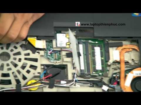 Hướng dẫn vệ sinh lắp ráp IBM THINKPAD W520 - Phần 2