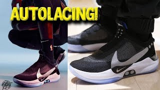 Nike Adapt BB Self Lacing Basketball Shoe Has Been Unveiled!