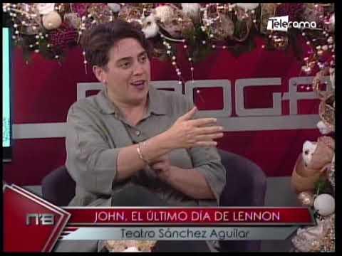 John, el último día de Lennon Teatro Sánchez Aguilar