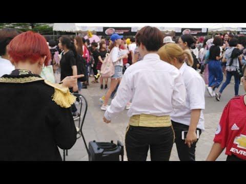 BangEarn in BTS Concert Bangkok
