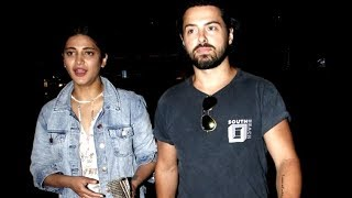 Bollywood starlets is always a topic of interest among their fans. While most of them refrain from coming out in open, a few of them are comfortable stepping out with their partners. Actress and singer, Shruti Haasan might not have accepted or denied her relationship with London based actor Michael Corsale, but is often spotted with the hunk. The duo was spotted at the airport together yesterday. Shruti and Michael were spotted at the Mumbai airport last night. The duo had met in London last year through a mutual friend and has reportedly been dating since then. Shruti always refrained from commenting on her personal life and hence, hasn't talked about the relationship as well.