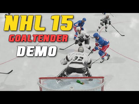 NHL 15 – Demo Goalie Control (Xbox One Gameplay)