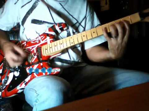 Van Halen   Hang Em High  cover using guitarless back track
