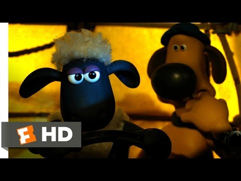 Shaun the Sheep Movie (2015) - Escaping the City Scene (9/10) | Movieclips