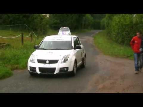 Rallye de France 2012: Les essais de AK Compétition à Hurbache