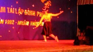 Quỳnh Trang Sơn Tây(9t)- Múa Quê Tôi