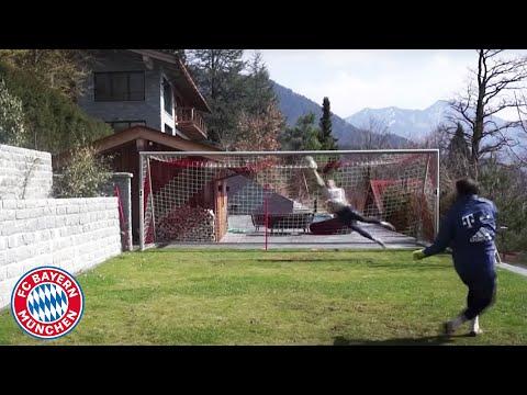 Manuel Neuer's impressive training at Lake Tegernsee   FC Bayern