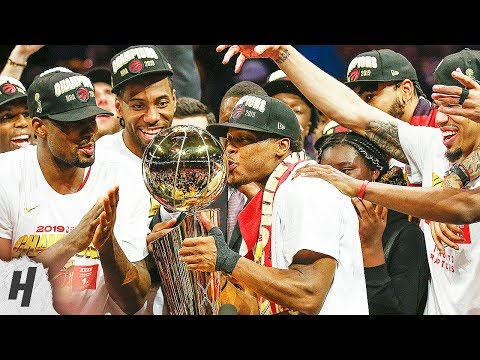 Toronto Raptors Full Trophy Presentation With Interviews | June 13, 2019 NBA Finals