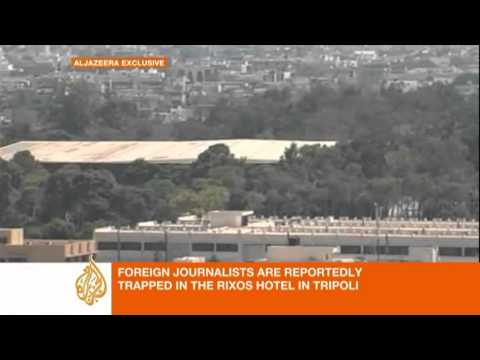 zeina khodr - Al Jazeera's Zeina Khodr gives an overview of the latest developments in the Libyan capital, Tripoli.