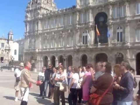 Italo Pendola during Romantic A Coruña Guided Tour - Galicia