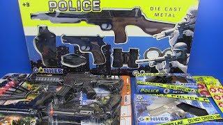 Video Guns Toys for Kids ! POLICE Set - Video for Kids- SURPRISE TOYS Box of Toys ! MP3, 3GP, MP4, WEBM, AVI, FLV Oktober 2018