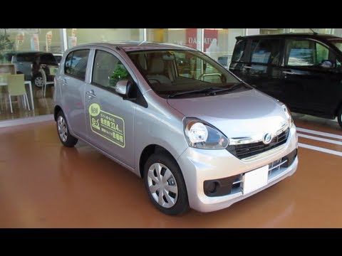 2013 New DAIHATSU Mira e:s?Smart Assist? – Exterior & Interior