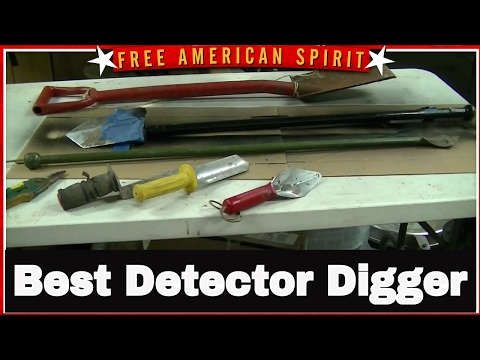 Metal Detecting Shovel and Digger Tools For Beginners the treasure hunting tools I use
