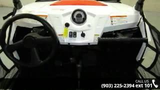 8. 2012 Polaris Ranger RZR S 800 Black/White/Red LE  - Sherm...
