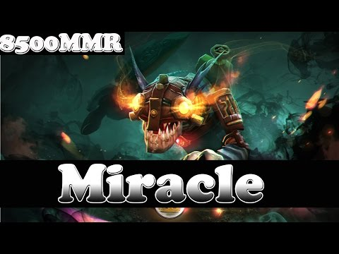 Dota 2 - Miracle- 8500 MMR Plays Slark Vol 24 - Ranked Match Gameplay!