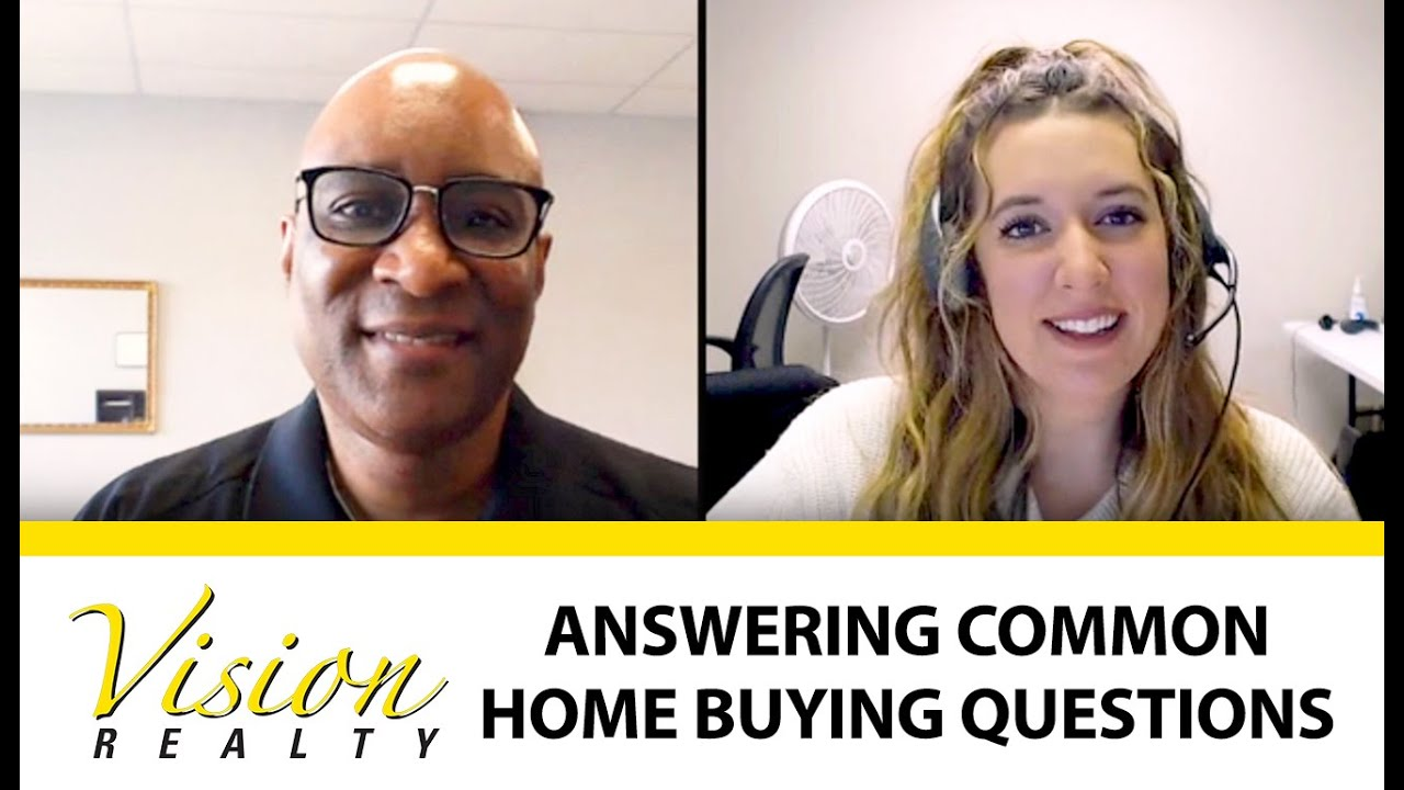 Answering Some Common Home Buying Questions
