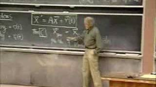 Lec 28 | MIT 18.03 Differential Equations, Spring 2006