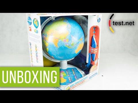Galileo & Clementoni | Weltentdecker - der interaktive Globus (Unboxing) | test.net