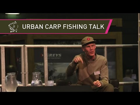 Urban Carp Fishing Alan Blair URBAN BANX LIVE at The 2014 Carpin' On Carp Show