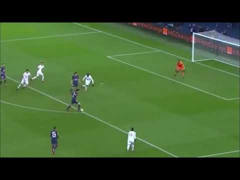 Pastore Paris SG vs Lille 2-0 09 Décembre 2017