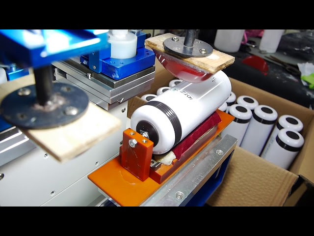 移印 - 金属烤漆 保温瓶 双色印刷