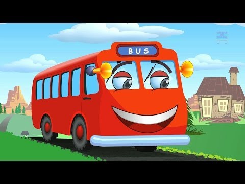 Muffin songs wheels on the bus nursery rhymes children songs