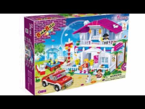 Video Video ad on the Restaurant Toy Building Set