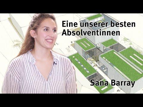 Eine unserer besten Absolventinnen: Sana Barray