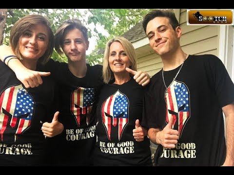 Be of Good Courage Sootch00 T-Shirts