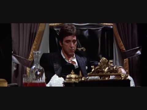 Tony Montana - Tony Montana has some fun with his friends.