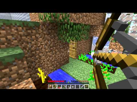 Minecraft: Ant Farm Survival – Part 3 with Badger, Rabbit, Shrimp