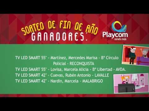 Ganadores del Sorteo de Playcom
