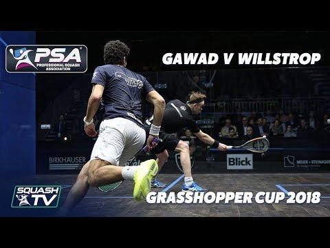 PSA Rewind: Willstrop v  Gawad - 2018 Grasshopper Cup - Full Squash Match