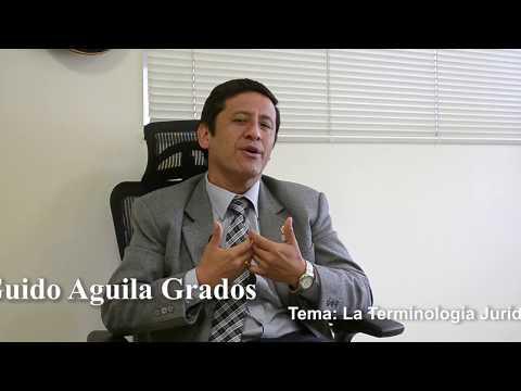Programa 26 - La Terminología Jurídica - Tribuna Constitucional - Guido Aguila