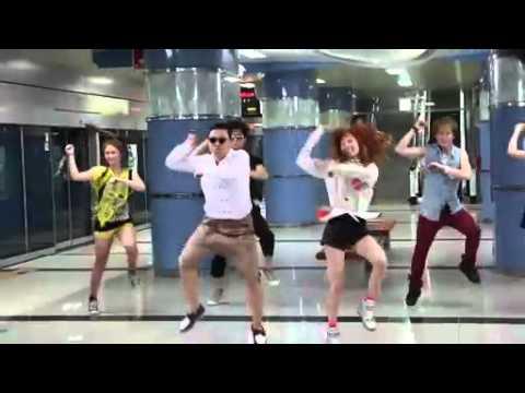 PSY – 'Gangnam Style' M/V BTS (With Hyuna)