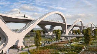 Nonton Building Los Angeles' Earthquake-Proof Bridge | The B1M Film Subtitle Indonesia Streaming Movie Download
