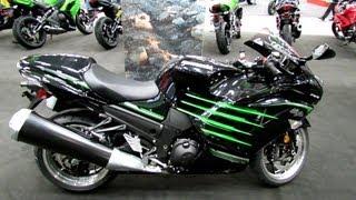 3. 2013 Kawasaki ZX-14R Special Edition - Walkaround - 2013 Quebec City Motorcycle Show