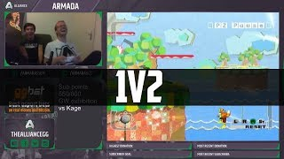 Armada 1v2's some casuals (takes less than a minute)