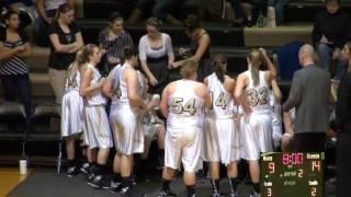 RHS Girls Basketball vs Whitko High School