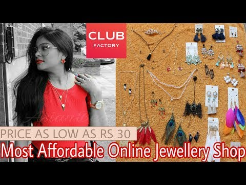 CLUB FACTORY Haul | Honest Review | Most Affordable Online JEWELLERY Shopping Review