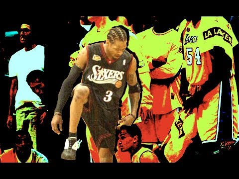 iverson - Paying homage to one of the GREATEST EVER to play the game and one who revolutionized the guard position with his speed and skills. Hopefully he returns to t...