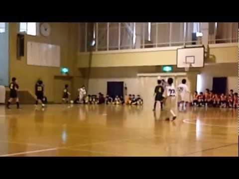 20121224フットサルU10清田区代表決定戦vs清田緑小2ピり.wmv